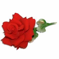 Декоративная роза Artigiano Capodimonte 0210/14/red