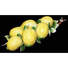 "Декоративная веточка ""Лимоны"" Artigiano Capodimonte F/011"