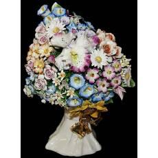 "Декоративный букет ""Цветы""  Artigiano Capodimonte 2011/10"