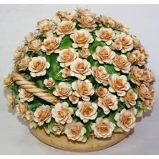 Декоративная корзина Artigiano Capodimonte 0210/7/cream