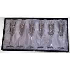 Набор бокалов для шампанского Chinelli 3050600