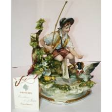 "Статуэтка ""Юноша у ручья"" Porcellane Principe 578/PP"