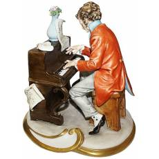 "Скульптура "" Пианист"" Tiche 127opaco/TICHE"