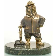 "Статуэтка ""Медведь шахтер"" RV10795CG"