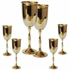 "Набор для шампанского на 6 персон ""RIGATO"" Chinelli 6977"