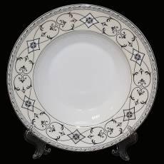 """Набор из 6-ти тарелок для первого """"Элегия"""" Glance J06-073WH-PL4"""