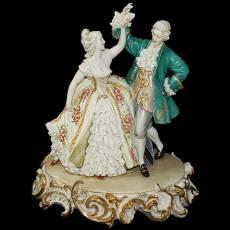 "Статуэтка ""Танцующие"" Porcellane Principe 1019T/PP"