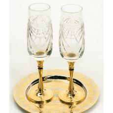 "Набор для шампанского ""Тет-а-Тет"" Златоуст RV11155CG"