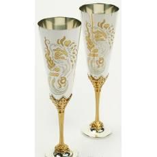 """Набор фужеров для шампанского """"Эдемский сад"""" RV14954CG"""