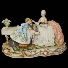 """Статуэтка """"За роялем"""" Porcellane Principe 1046/PP"""