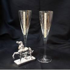 """Набор для шампанского """"Благородная лошадь"""" Chinelli 3102000"""