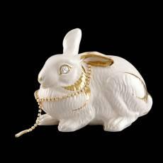 """Статуэтка """"Лежащий кролик"""" Ahura SR1432C/C/AOLY"""