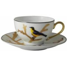 "Чайная чашка с блюдцем ""Aux Oiseaux"" BERNARDAUD 89AuxOiseaux"