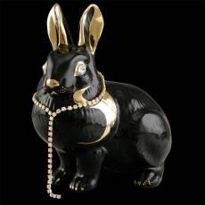 """Статуэтка """"Лежащий кролик"""" Ahura SR1432C/B/NOLY"""