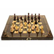 """Янтарные шахматы """"Тина"""" ES044"""