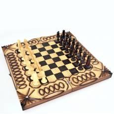 """Шахматы-нарды """"Резные"""" RV0017000CG"""