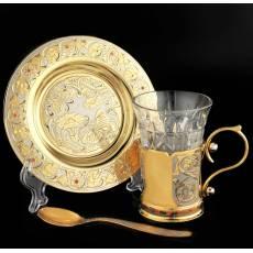 Чайно-кофейный набор Златоуст Авторские работы RV0021863CG