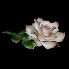 Декоративная роза Artigiano Capodimonte 0210/14/pink