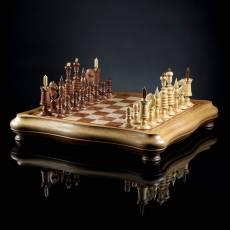 "Шахматы ""Барлейкорн люкс"" (Ироко) AVTSH50"