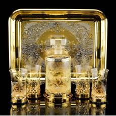 """Набор для виски """"Кони"""" Златоуст RV0037130CG"""