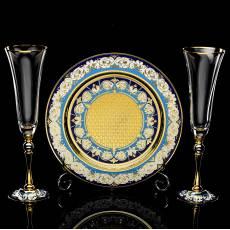 Набор под шампанское Златоуст RV0042714CG