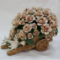 Декоративная тележка Artigiano Capodimonte 0210/25/cream