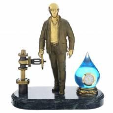"Бронзовая статуэтка ""Работник водоканала"" RV0037898CG"