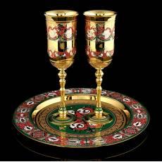 Набор под шампанское на 2 персоны. Златоуст RV0037359CG