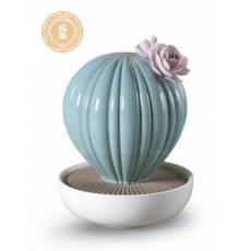 """Декоративный цветок """"Кактус с розовым цветком"""" Lladro 01040183"""