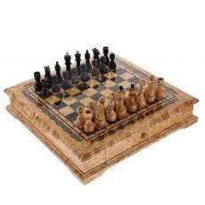 Деревянные шахматы с 2-мя ящиками RV0050817CG