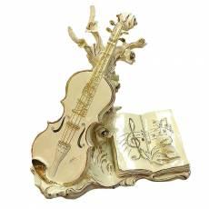 "Статуэтка ""Декоративная композиция - Скрипка"" Ceramiche Ferraro С 626"