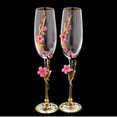 "Набор под шампанское ""Сакура"" Златоуст RV0056434CG"