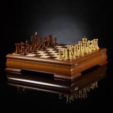 Шахматы Стаунтон Люкс (лайсвуд / самшит), ограниченная серия AVTSH136