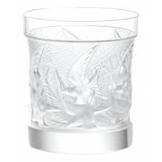 """Стакан для виски """"Swallows"""" Lalique 1345700"""