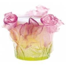 """Подсвечник """"Roses"""" Daum 02618"""