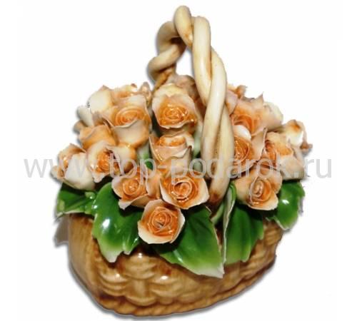 Декоративная корзина Artigiano Capodimonte 0210/28/cream