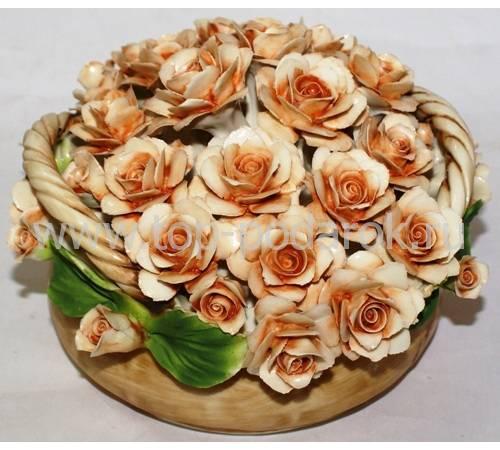 Декоративная корзина Artigiano Capodimonte 0210/20/cream