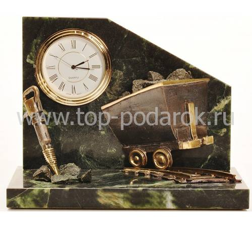 """Статуэтка - часы """"Шахта"""" RV11524CG"""