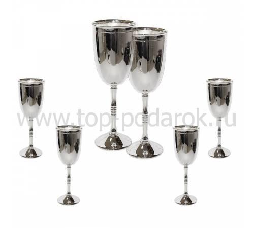 "Набор для шампанского на 6 персон ""RIGATO"" Chinelli 2977"