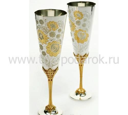 """Набор фужеров для шампанского """"Цветочный"""" RV14950CG"""