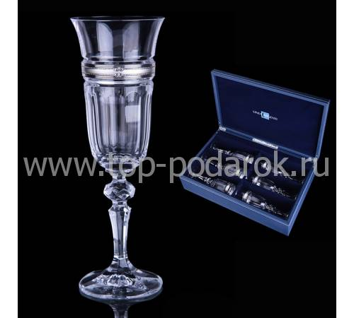 Набор для шампанского Linea Argenti CR1806BC