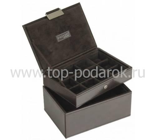 Шкатулка для 2 часов и запонок Stackers LC Designs Co. Ltd. 73183