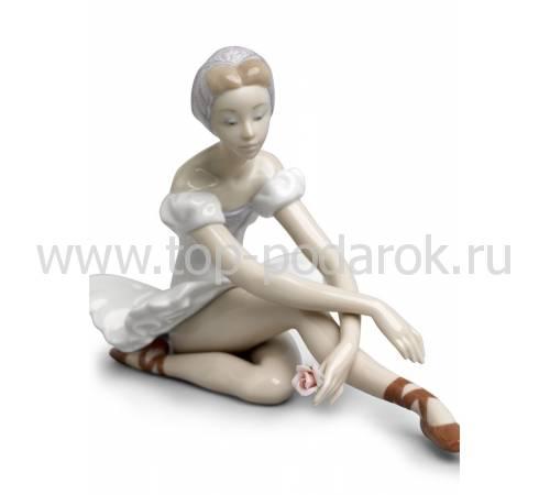 """Статуэтка """"Балерина с розой"""" Lladro 01005919"""