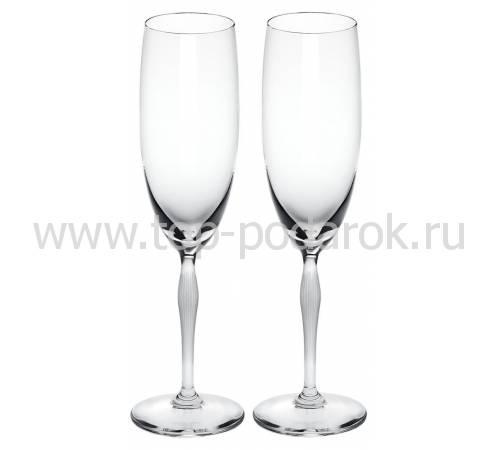 """Набор из 2-х фужеров для шампанского """"100 Points"""" Lalique 10331300"""