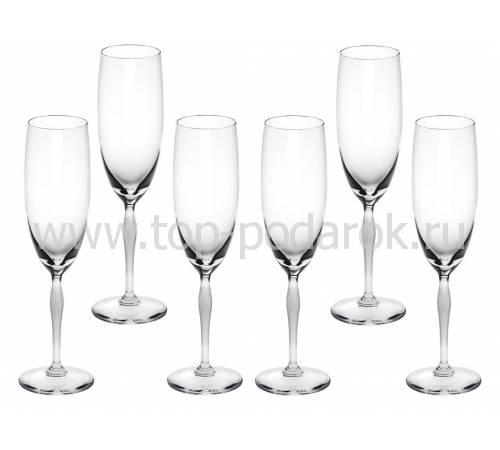 """Набор из 6-и фужеров для шампанского """"100 Points"""" Lalique 10331400"""
