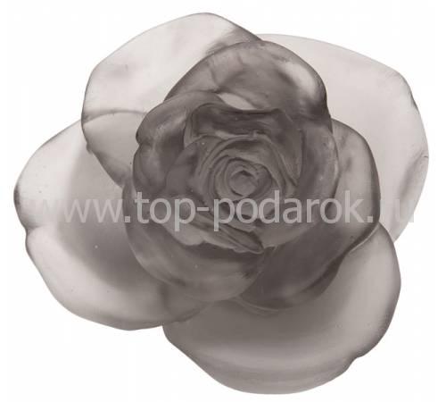 """Цветок розы """"Rose Passion"""" серый Daum 05290-7"""