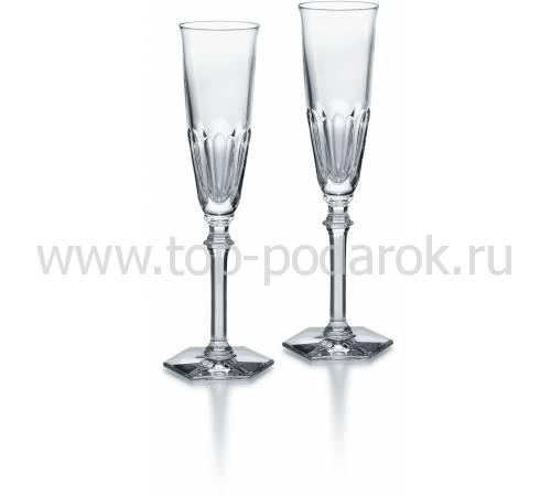 """Набор из 2-х прозрачных фужеров для шампанского """"HARCOURT EVE"""" Baccarat 2802588"""