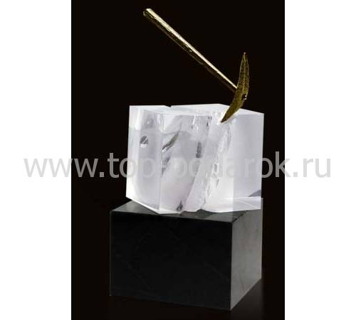"""Сувенир """"Молоток и угольная вагонетка"""" 0-У-1"""