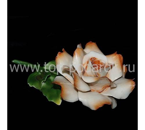 Декоративная роза Artigiano Capodimonte 0210/14/cream