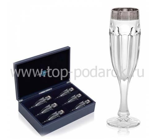 Набор бокалов для шампанского Linea Argenti CR1762BC